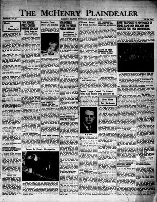 McHenry Plaindealer (McHenry, IL), 22 Jan 1953