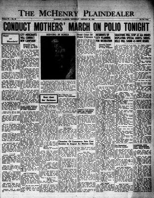 McHenry Plaindealer (McHenry, IL), 29 Jan 1953