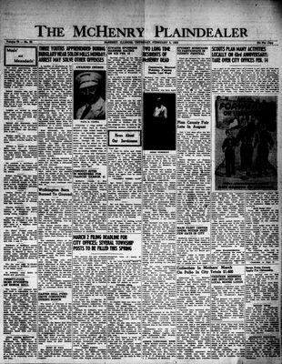 McHenry Plaindealer (McHenry, IL), 5 Feb 1953