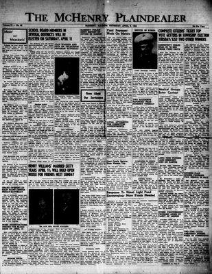 McHenry Plaindealer (McHenry, IL), 9 Apr 1953