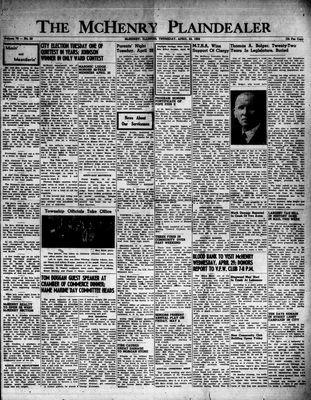 McHenry Plaindealer (McHenry, IL), 23 Apr 1953