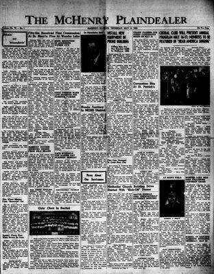 McHenry Plaindealer (McHenry, IL), 14 May 1953