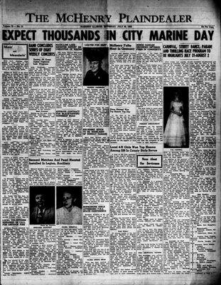 McHenry Plaindealer (McHenry, IL), 30 Jul 1953