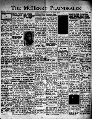 McHenry Plaindealer (McHenry, IL), 24 Sep 1953