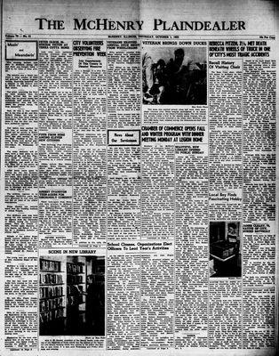 McHenry Plaindealer (McHenry, IL), 1 Oct 1953