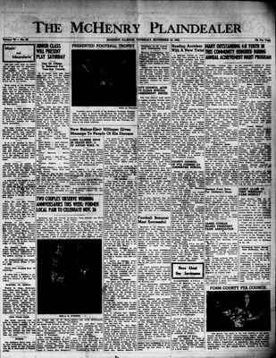 McHenry Plaindealer (McHenry, IL), 19 Nov 1953