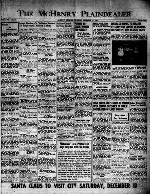 McHenry Plaindealer (McHenry, IL), 17 Dec 1953