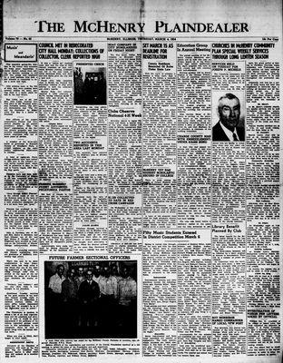 McHenry Plaindealer (McHenry, IL), 4 Mar 1954