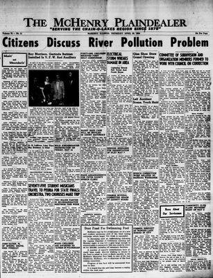 McHenry Plaindealer (McHenry, IL), 29 Apr 1954