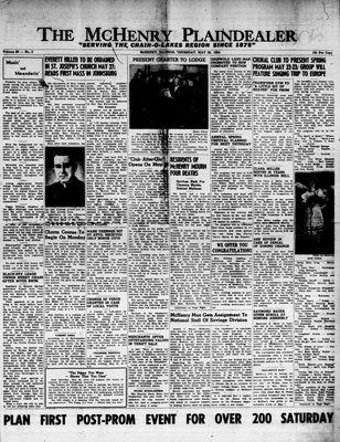 McHenry Plaindealer (McHenry, IL), 20 May 1954