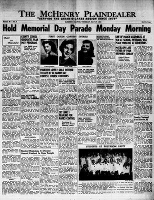 McHenry Plaindealer (McHenry, IL), 27 May 1954