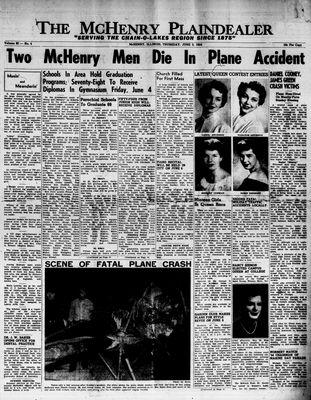 McHenry Plaindealer (McHenry, IL), 3 Jun 1954