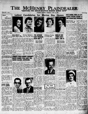 McHenry Plaindealer (McHenry, IL), 10 Jun 1954