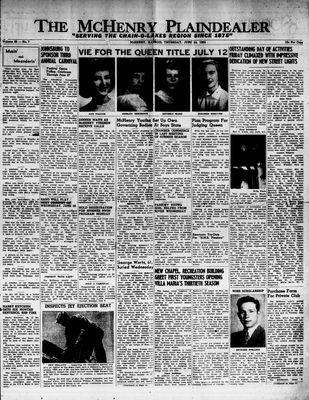 McHenry Plaindealer (McHenry, IL), 24 Jun 1954