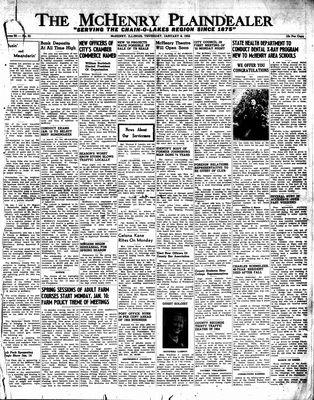 McHenry Plaindealer (McHenry, IL), 6 Jan 1955