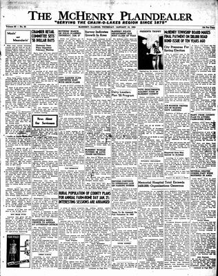 McHenry Plaindealer (McHenry, IL), 13 Jan 1955