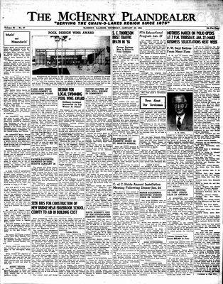 McHenry Plaindealer (McHenry, IL), 20 Jan 1955