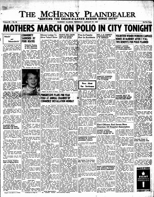 McHenry Plaindealer (McHenry, IL), 27 Jan 1955