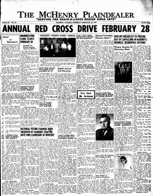 McHenry Plaindealer (McHenry, IL), 24 Feb 1955