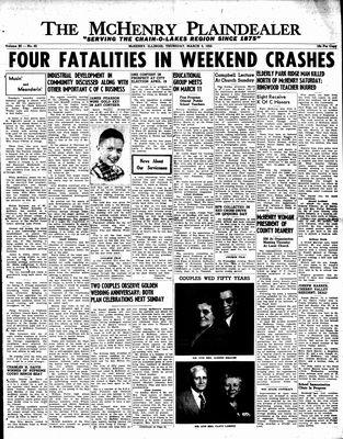 McHenry Plaindealer (McHenry, IL), 3 Mar 1955