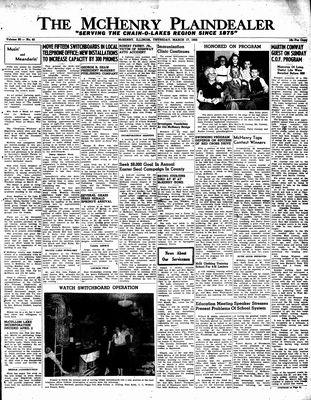 McHenry Plaindealer (McHenry, IL), 17 Mar 1955