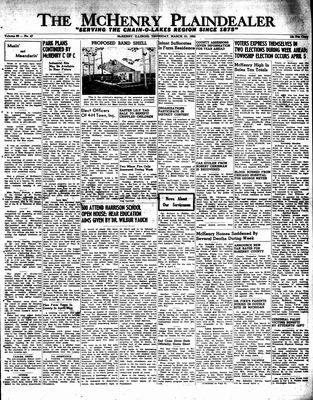 McHenry Plaindealer (McHenry, IL), 31 Mar 1955