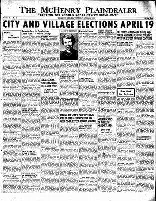 McHenry Plaindealer (McHenry, IL), 14 Apr 1955