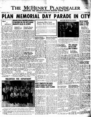 McHenry Plaindealer (McHenry, IL), 26 May 1955