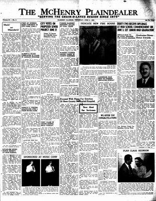 McHenry Plaindealer (McHenry, IL), 2 Jun 1955