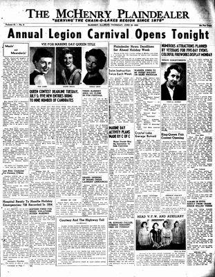 McHenry Plaindealer (McHenry, IL), 30 Jun 1955