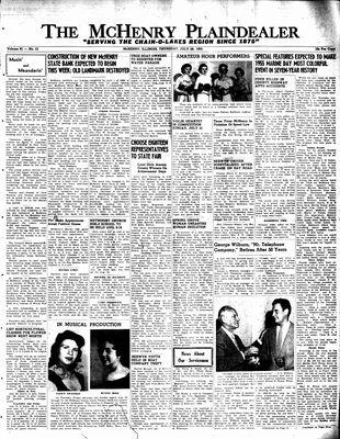 McHenry Plaindealer (McHenry, IL), 28 Jul 1955