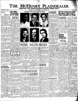 McHenry Plaindealer (McHenry, IL), 8 Sep 1955