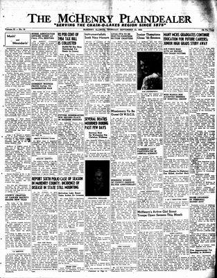 McHenry Plaindealer (McHenry, IL), 15 Sep 1955