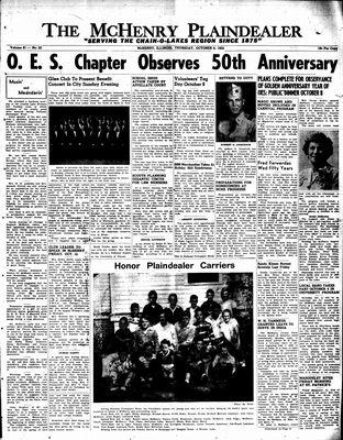 McHenry Plaindealer (McHenry, IL), 6 Oct 1955