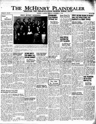 McHenry Plaindealer (McHenry, IL), 10 Nov 1955