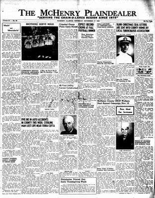 McHenry Plaindealer (McHenry, IL), 17 Nov 1955