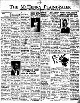 McHenry Plaindealer (McHenry, IL), 15 Dec 1955