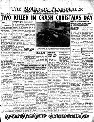 McHenry Plaindealer (McHenry, IL), 29 Dec 1955