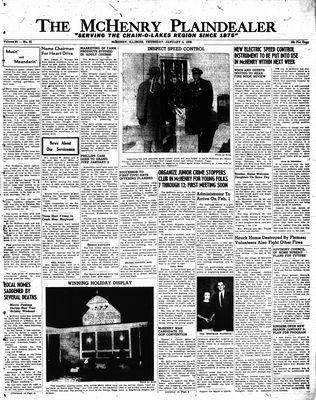 McHenry Plaindealer (McHenry, IL), 5 Jan 1956