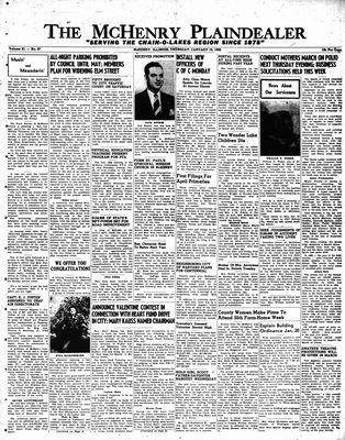 McHenry Plaindealer (McHenry, IL), 19 Jan 1956