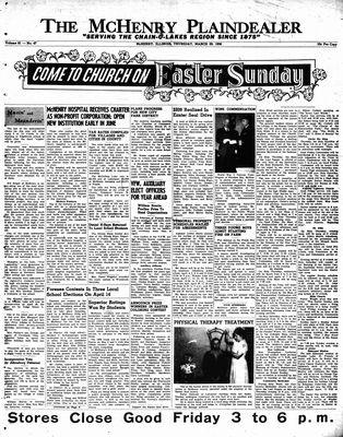 McHenry Plaindealer (McHenry, IL), 29 Mar 1956