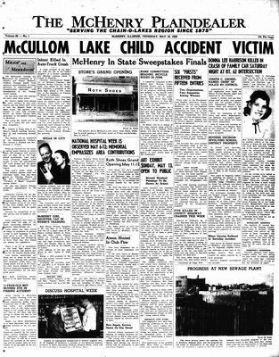 McHenry Plaindealer (McHenry, IL), 10 May 1956
