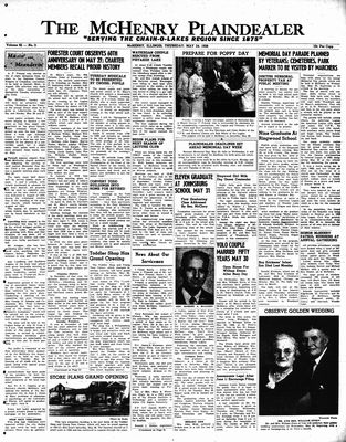 McHenry Plaindealer (McHenry, IL), 24 May 1956