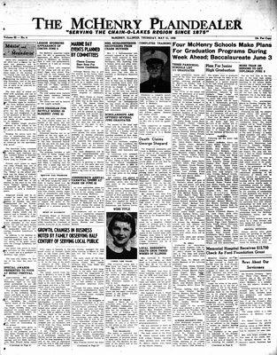 McHenry Plaindealer (McHenry, IL), 31 May 1956