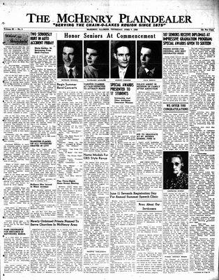 McHenry Plaindealer (McHenry, IL), 7 Jun 1956