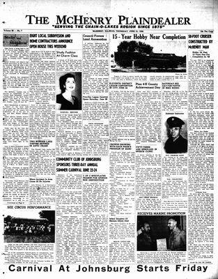 McHenry Plaindealer (McHenry, IL), 21 Jun 1956