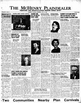 McHenry Plaindealer (McHenry, IL), 12 Jul 1956
