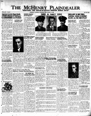 McHenry Plaindealer (McHenry, IL), 13 Sep 1956
