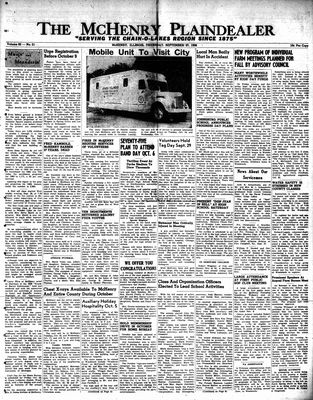 McHenry Plaindealer (McHenry, IL), 27 Sep 1956