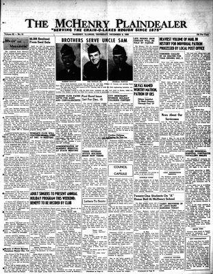 McHenry Plaindealer (McHenry, IL), 6 Dec 1956
